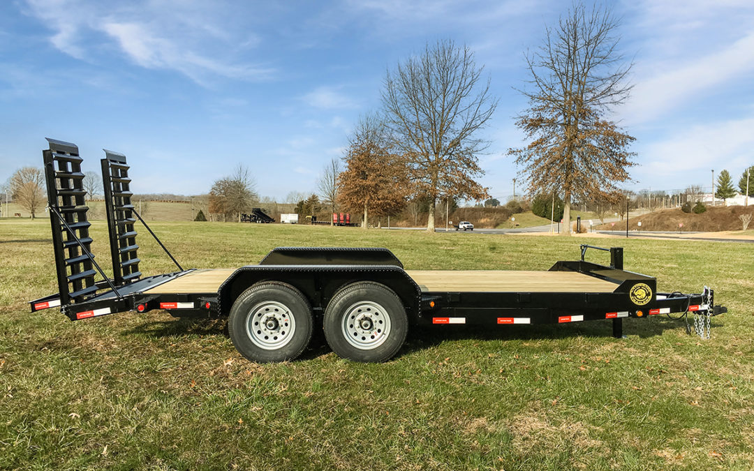 +2 series 14k GVWR Equipment Trailer